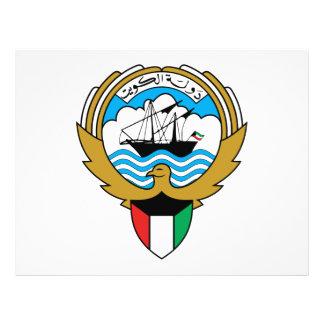 Escudo de armas de Kuwait Tarjetas Informativas