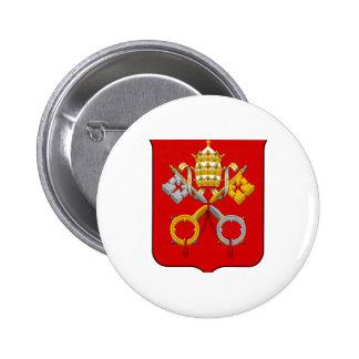 Escudo de armas de la Ciudad del Vaticano Pins