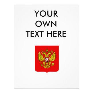 Escudo de armas de la Federación Rusa Tarjetas Publicitarias