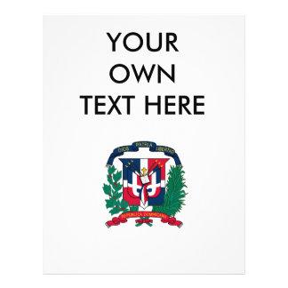 Escudo de armas de la República Dominicana Flyer A Todo Color
