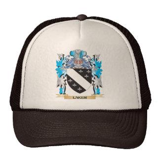 Escudo de armas de Laker - escudo de la familia Gorra