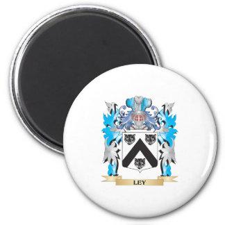 Escudo de armas de Ley - escudo de la familia Imán De Frigorífico