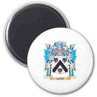 Escudo de armas de Leye - escudo de la familia Imán De Nevera