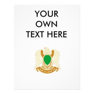 Escudo de armas de Libia Flyer Personalizado