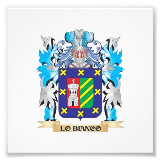 Escudo de armas de Lo-Bianco - escudo de la Impresion Fotografica