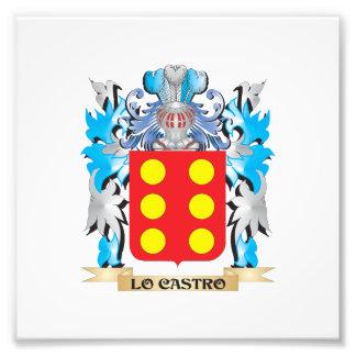 Escudo de armas de Lo-Castro - escudo de la Impresiones Fotograficas
