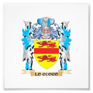Escudo de armas de Lo-Cuoco - escudo de la familia Impresiones Fotográficas