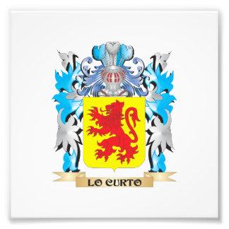 Escudo de armas de Lo-Curto - escudo de la familia Fotos