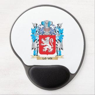 Escudo de armas de Lo-Voi - escudo de la familia Alfombrilla De Raton Con Gel