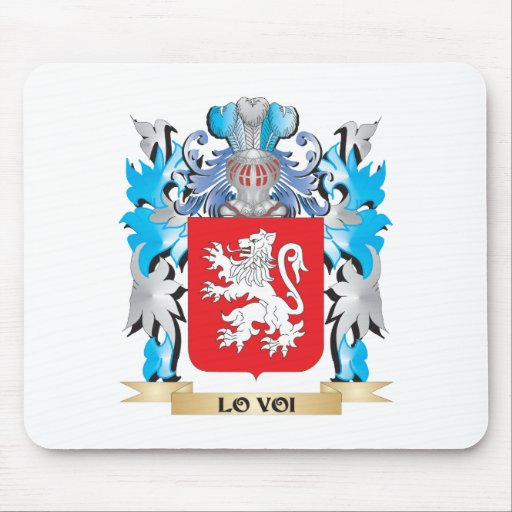 Escudo de armas de Lo-Voi - escudo de la familia Tapete De Raton