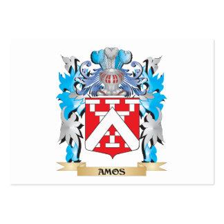 Escudo de armas de los Amos Plantilla De Tarjeta De Visita