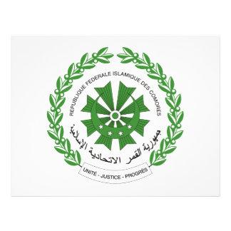 Escudo de armas de los Comoro Tarjetas Informativas