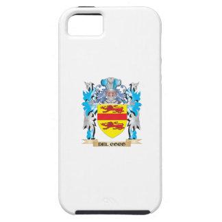 Escudo de armas de los Del-Cocos - escudo de la fa iPhone 5 Case-Mate Protectores