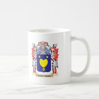 Escudo de armas de los di-Battista - escudo de la Taza De Café