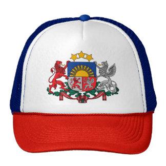 Escudo de armas de los ģerbonis de Letonia - de Gorro De Camionero