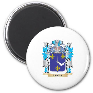 Escudo de armas de los Leyes - escudo de la Iman De Frigorífico