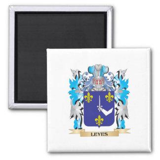 Escudo de armas de los Leyes - escudo de la Imanes De Nevera