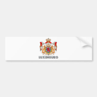 Escudo de armas de Luxemburgo Pegatina Para Coche