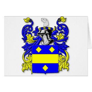 Escudo de armas de Macbeth Tarjeta De Felicitación