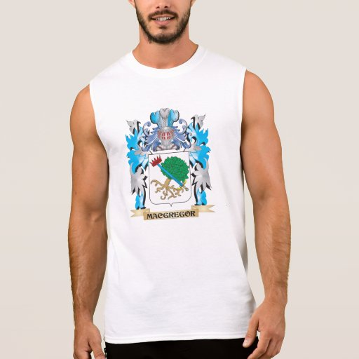 Escudo de armas de Macgregor - escudo de la Camisetas Sin Mangas