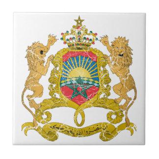 Escudo de armas de Marruecos Tejas Cerámicas