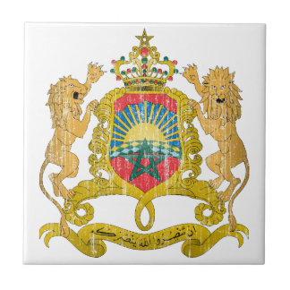 Escudo de armas de Marruecos Azulejos Cerámicos