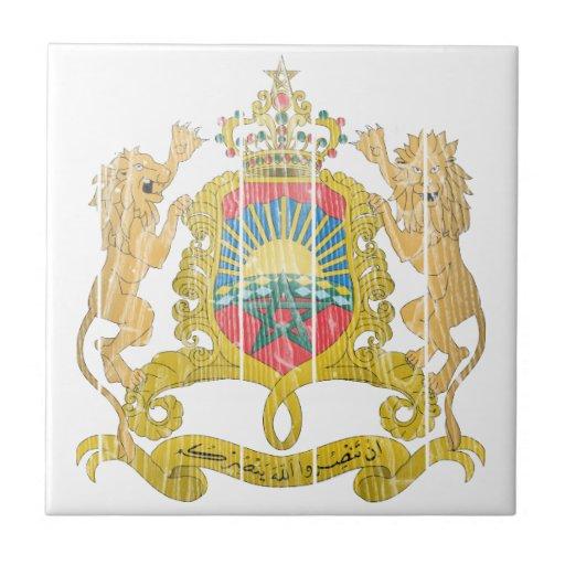 Escudo de armas de Marruecos Teja