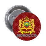 Escudo de armas de Marruecos Pins