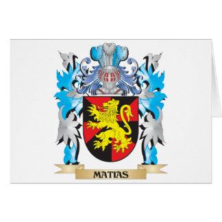 Escudo de armas de Matias - escudo de la familia Tarjeton