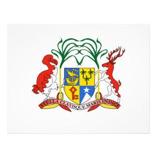 Escudo de armas de Mauricio Tarjetas Publicitarias