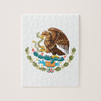 Escudo de armas de México Puzzle