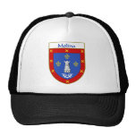 Escudo de armas de Molina/escudo de la familia Gorro De Camionero