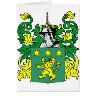 Escudo de armas de Moore Tarjeta De Felicitación