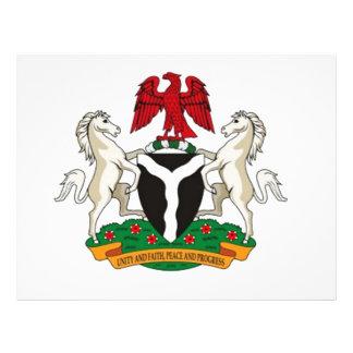 Escudo de armas de Nigeria Flyer Personalizado