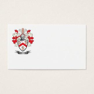 Escudo de armas de O'Byrne Tarjeta De Negocios