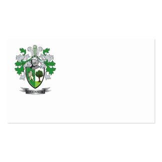 Escudo de armas de O'Connor Tarjetas De Visita