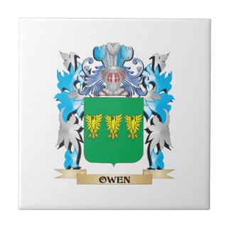 Escudo de armas de Owen - escudo de la familia Tejas