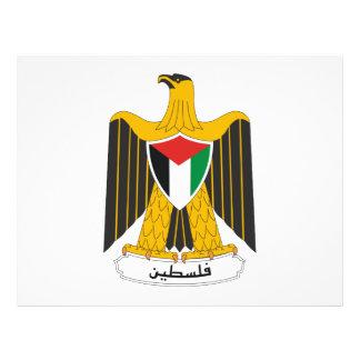 Escudo de armas de Palestina Tarjetones