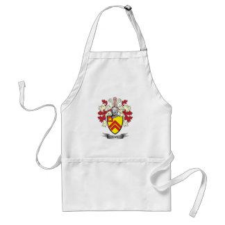Escudo de armas de papa Family Crest Delantal