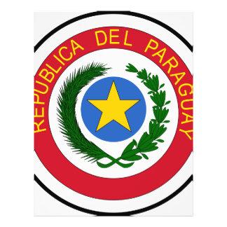Escudo de armas de Paraguay Flyer Personalizado