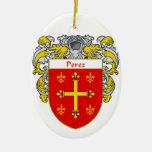 Escudo de armas de Pérez/escudo de la familia Adorno Para Reyes