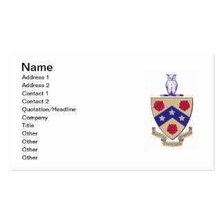 Escudo de armas de PGD Tarjeta Personal