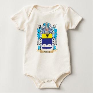 Escudo de armas de Pogue - escudo de la familia Bodi De Bebé