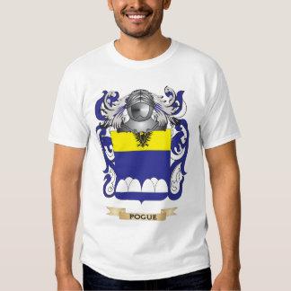 Escudo de armas de Pogue (escudo de la familia) Camisas