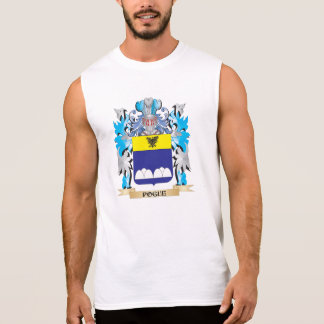 Escudo de armas de Pogue - escudo de la familia Camisetas Sin Mangas