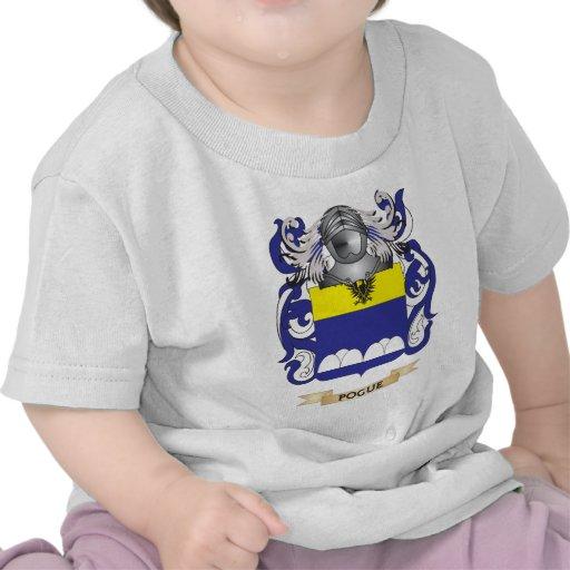 Escudo de armas de Pogue (escudo de la familia) Camiseta