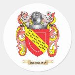 Escudo de armas de Quigley (escudo de la familia) Etiquetas