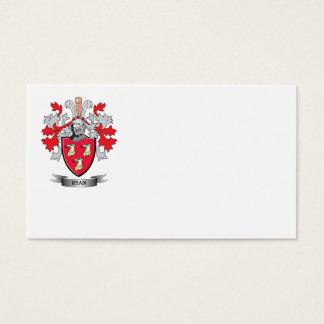 Escudo de armas de Ryan Tarjeta De Negocios