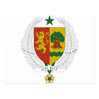 Escudo de armas de Senegal Postal