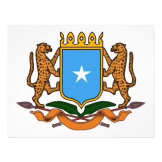 Escudo de armas de Somalia Flyer A Todo Color